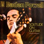 Baden Powell - Solitude On Guitar - Capa