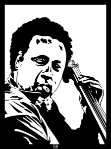 charles_mingus_by_psykohilly-d5jj7vy